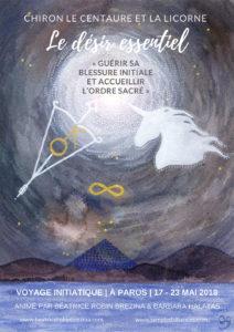 Chiron,  le Centaure et la Licorne, le désir essentiel