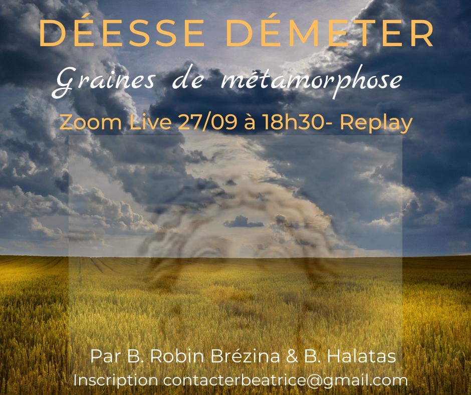 You are currently viewing Langage Vibratoire » La déesse Démeter» 27/9/2021 – 18h30