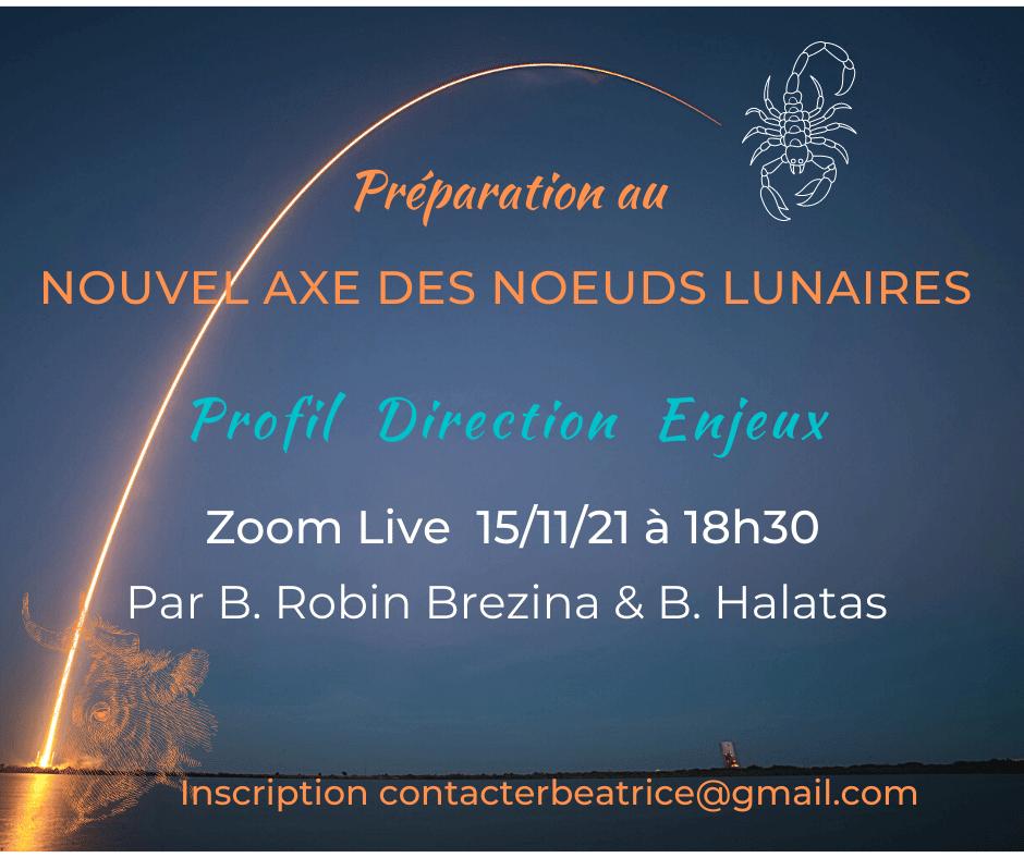 You are currently viewing Langage Vibratoire «Nouvel axe des noeuds lunaires»   15 novembre 2021 à 18h30